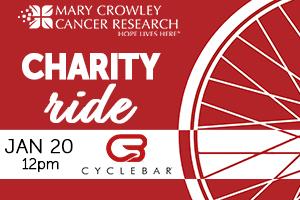 Charity Ride at Cyclebar