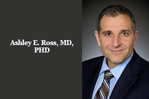 Announcing Ashley E. Ross, M.D., PHD, Press Release
