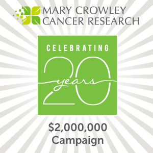 Celebrating twenty years with a $2,000,000 campaign drive