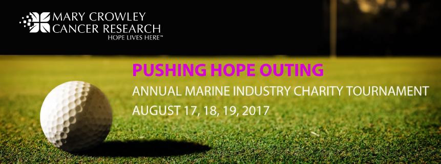 2017 Pushing Hope Annual Marine Industry Charity Tournament